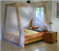 Bamboo Bed  Bamboo Bed  Bamboo side cabinet Mosquito-net100%cotton