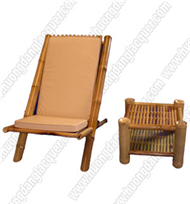 bamboo relex chair & table set