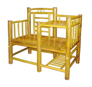 set of bamboo table & chair