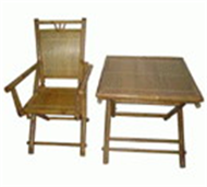 set of folding table & chair