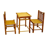 set of tea table & 2 chairs
