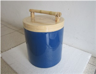 round box with handle