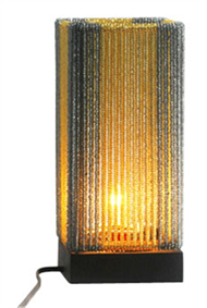 Bead rectangular lamp