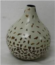vase with incrusted bamboo
