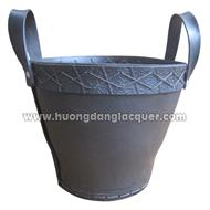 rubber basket for gardening