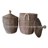 set of 2 seagarss baskets