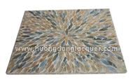 rectangular table-mats