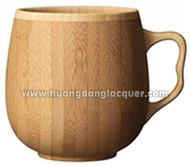 bamboo cup with handle
