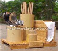 set holder chopsticks & spoon